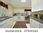 kitchen in suburban home with... | Shutterstock . vector #47444164