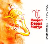 Illustration Of Lord Ganesha I...