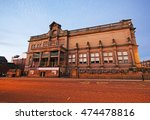 Small photo of BURY, UK - AUGUST 27, 2016: Art Gallery. Bury is a town in Greater Manchester, on the River Irwell. Bury is known for the open-air Bury Market and the local traditional dish, black pudding.