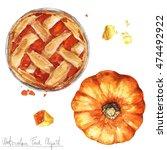 Watercolor Food Clipart  ...