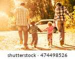 parents   mother  father and... | Shutterstock . vector #474498526