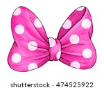 Pink Polka Dot Gift Bow....
