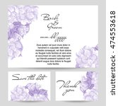 vintage delicate invitation...   Shutterstock .eps vector #474553618