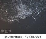 Map Of Toronto  Satellite View  ...