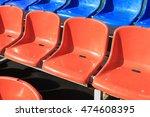 sports equipment  running track ... | Shutterstock . vector #474608395
