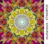 digital painting beautiful...   Shutterstock . vector #474608935