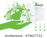 ecology connection  concept... | Shutterstock .eps vector #474627712