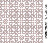 seamless ornamental pattern... | Shutterstock .eps vector #474631258