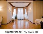modern luxury interior   hall...   Shutterstock . vector #47463748