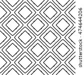 line ornament pattern. black... | Shutterstock .eps vector #474644206