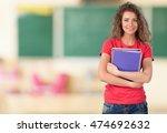 college student. | Shutterstock . vector #474692632