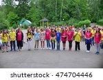 children on vacation children's ... | Shutterstock . vector #474704446