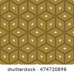 seamless pattern based on the... | Shutterstock .eps vector #474720898