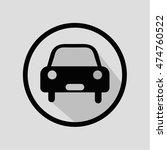 car icon illustration isolated  ...