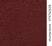 dark red  leather texture as... | Shutterstock . vector #474762628