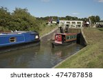 kennet and avon canal devizes... | Shutterstock . vector #474787858