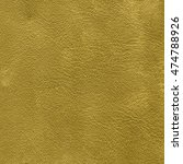 yellow  leatherette texture...   Shutterstock . vector #474788926