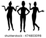 figure people silhouettes... | Shutterstock .eps vector #474803098