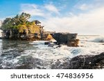 Tanah Lot Water Temple In Bali...