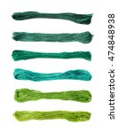 Embroidery Thread Yarn Isolate...