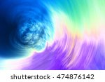 abstract circular motion...   Shutterstock . vector #474876142