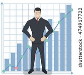 business theme illustration.... | Shutterstock .eps vector #474917722