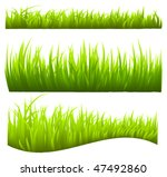 grass vector | Shutterstock .eps vector #47492860