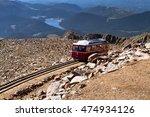 Pikes Peak Cog Railway Car...