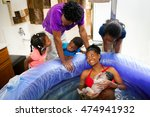 a beautiful african american... | Shutterstock . vector #474941932