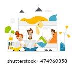color vector flat illustration...   Shutterstock .eps vector #474960358