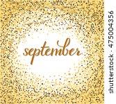 brush pen lettering of...   Shutterstock .eps vector #475004356