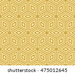 seamless pattern based on the... | Shutterstock .eps vector #475012645