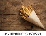 fries french herb still life... | Shutterstock . vector #475049995