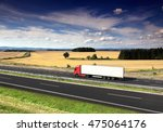 truck on the road | Shutterstock . vector #475064176