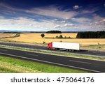 truck transportation | Shutterstock . vector #475064176