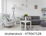 delicate modern decorations... | Shutterstock . vector #475067128