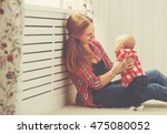 happy family mother and baby...   Shutterstock . vector #475080052