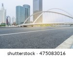 clean city road shanghai china.   Shutterstock . vector #475083016