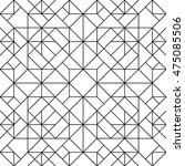 line vector seamless pattern.... | Shutterstock .eps vector #475085506