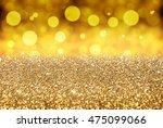 golden background  merry...   Shutterstock . vector #475099066