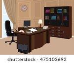office interior room. modern...
