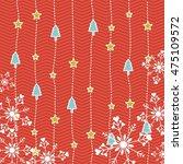 happy merry christmas card... | Shutterstock .eps vector #475109572