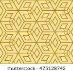 seamless pattern based on the... | Shutterstock .eps vector #475128742