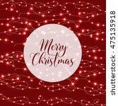 christmas light abstract... | Shutterstock .eps vector #475135918