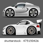 sports car | Shutterstock .eps vector #475150426