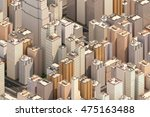 isometric city scape. high... | Shutterstock . vector #475163488