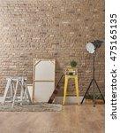 build organize a corner... | Shutterstock . vector #475165135