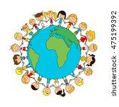 children world friendship...