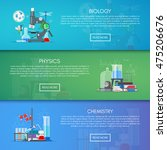 biology  chemistry and physics... | Shutterstock .eps vector #475206676