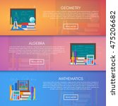 geometry  algebra and math...   Shutterstock .eps vector #475206682
